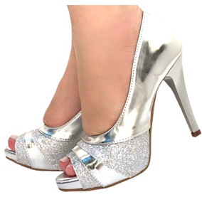 4d9404df98 Peep Toe Rosa - Sapatos para Feminino no Mercado Livre Brasil