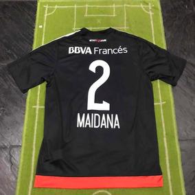 b19f34bfd Camiseta River Negra 2017 - Camisetas de Clubes Nacionales Adultos ...