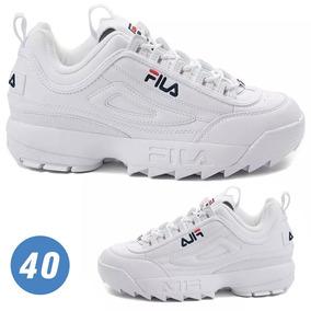 22018c8f08e Tenis Sneaker Fila Disruptor Unissex Lançamento 2019 Nº 40