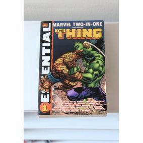 Essential Marvel Two In One - The Thing Vol 1 - Importado