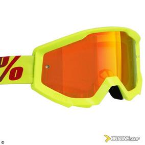 Oculos 100 Strata Vermelho - Acessórios de Motos no Mercado Livre Brasil 0db680e6c8