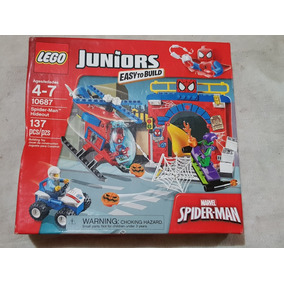 Lego Juniors Marvel Spider-man 10687 De 137 Piezas
