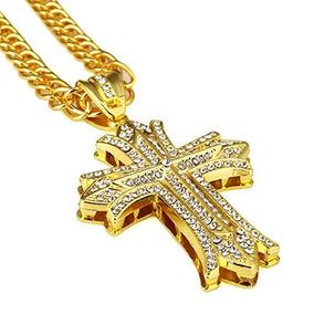 Nyuk Hombre Hip Hop 18k Plata De Oro Real Chapado Colgante C 6c92f638213