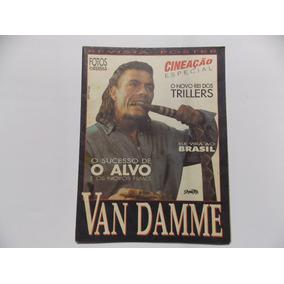 Revista Poster Van Damme Cineação Especial ( Raro )