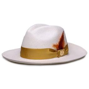 10 Chapéu Moda Panamá Colorido Unissex Praia Aba Flexivel. São Paulo · Chapéu  Panamá Original Faixa Dourada Penas Coloridas   de776760a82