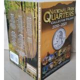 Folder Whitman Monedas Quarters Parques Nacionales, Cuartos