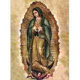 Litografía De La Virgen De Guadalupe 30x40