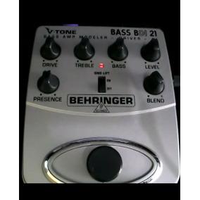 Pedal Para Contrabaixo V-tone Bass Bdi21 Behringer