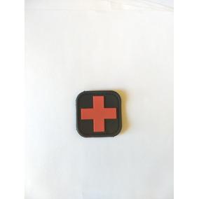 Patch Emborrachado Cruz Vermelha 3x3 Top De Linha