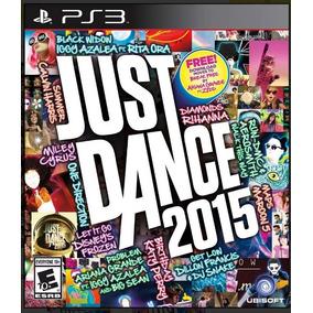Jogo Just Dance 2015 Novo - Ps3 - Midia Fisica E Lacrada.