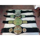 Lote De 4 Wwe Cinturones Campeonatos