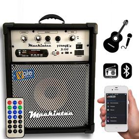 Caixa Multiuso Amplificada X150 8 Bluetooth,usb+sd+fm+cont
