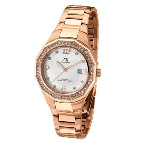 b11c8574f6c Relógio Feminino Ana Hickmann Cor Ouro Rosê - Relógios De Pulso no ...