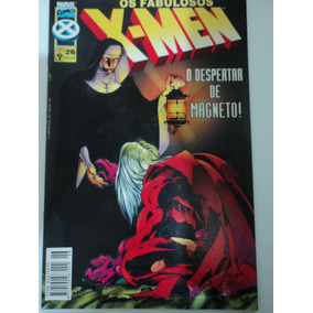 Hq-os Fabulosos X-men:vol.26:o Despertar De Magneto!:marvel