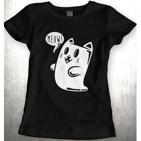 Gato Fantasma Blusa Dama Rott Wear