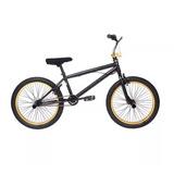 Bicicleta Bmx Oxford Spine Aro:20 Negro/amarillo