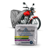 Capa Cobrir Moto Honda Biz 125 Impermeável Proteção Anti Uv