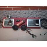 Combo Plantas De Sonido Lanzar Vibe + Bateria Gel Y Medios