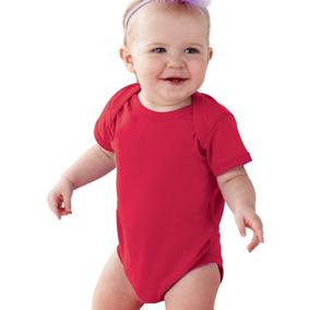 Pañalero Rojo Algodon 100% Tallas Disponibles 3 A 18 Meses