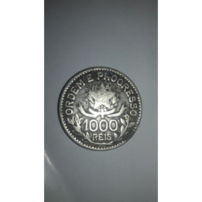 Moeda Rara 1000 Réis 1913 Para Colecionador Raridade Barato