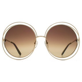 0044931a4f42a Oculos De Sol Chloe Carlina - Óculos no Mercado Livre Brasil