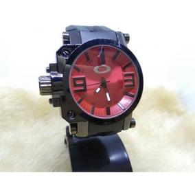 bcdf468dd3453 Relogio Oakley Gearbox Original Vermelho - Relógios De Pulso no ...