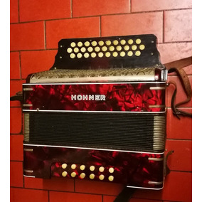 Acordeon Hohner 3 Hileras Verdulera Voces De Bandoneon