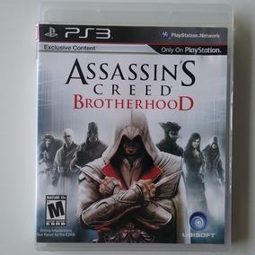 Assassins Creed Brotherhood Ps3 M. Física Original Perfeito