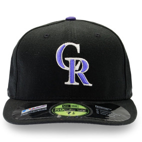 Gorra Rockies Colorado Niño Negra New Era Coolbase 59 Fifty ef0c74eb4ac