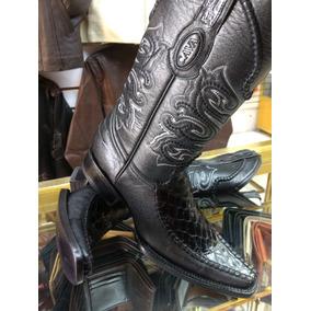 Botas Cocodrilo Negras - Zapatos en Mercado Libre México dfce4edb757