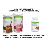 Kit 2 Shake + Chá 100g Herbalife! Frete Grátis