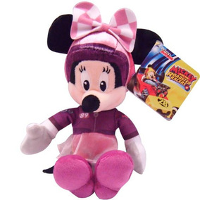 Peluche Minnie Mouse Racing Outfit Disney