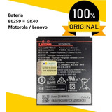 Bateria Motorola Lenovo Original Bl259 Moto G5 K5 C2 G4 Gk40