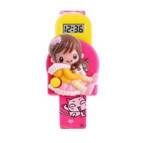 984eebd0bac Relogio Infantil Digital Rosa - Relógios no Mercado Livre Brasil