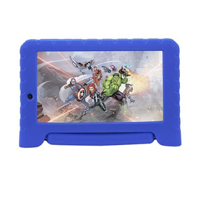 Tablet Multilaser Disney Android 7.0 Quad Core 8gb 7pol Azul