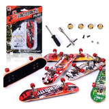 Kit Patineta Skate Fingerboard Tipo Tech Deck 96 Mm