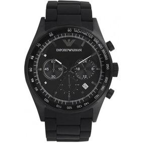 c49643d1854 Emporio Armani Chronotachymeter Ar 901 Unissex - Relógios De Pulso ...