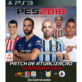 Patch(atualização) Pes 2018 Ps3 - Abril 2019 Envio Na Hora!