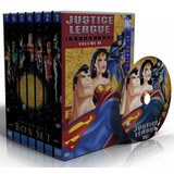 Dvd Liga Da Justiça + Liga Sem Limites - Edição Completa