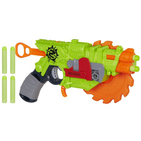 Arma Nerf Zombie Strike Crosscut Com 4 Dardos Hasbro