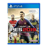 Juego Ps4 Pro Evolution Soccer Pes 2019 (latam)