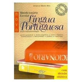 1945 Novo Minidic. Escolar Língua Portuguesa D. Ribeiro Rio
