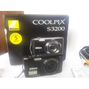 Camara Nikon Coolpix S3200 Nueva