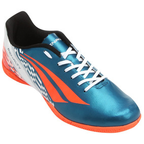 Chuteira Futsal Penalty Storm 7 Masculina - Azul Petróleo E · R  109 99 563a696a749a7