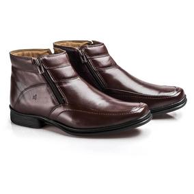 Bota Social Masculina Soft Confort Boots Rafarillo Castanho