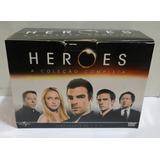 Dvd - Heroes: A Coleção Completa - Temporadas De 1 A 4