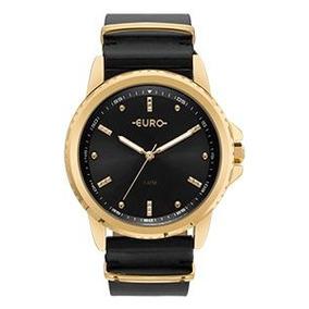 d8c7776329b Relógio Pulseira Euro De Couro Original - Joias e Relógios no ...