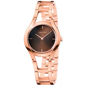 23ab73bf3e6 Relogio Calvin Klein Dourado - Relógios De Pulso no Mercado Livre Brasil