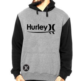 63b360e07a435 Blusa Moletom Hurley Surf Skate Skatista Moletom