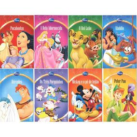 16 Livros Infantil Disney, Cinderela, Rei Leão, Mickey